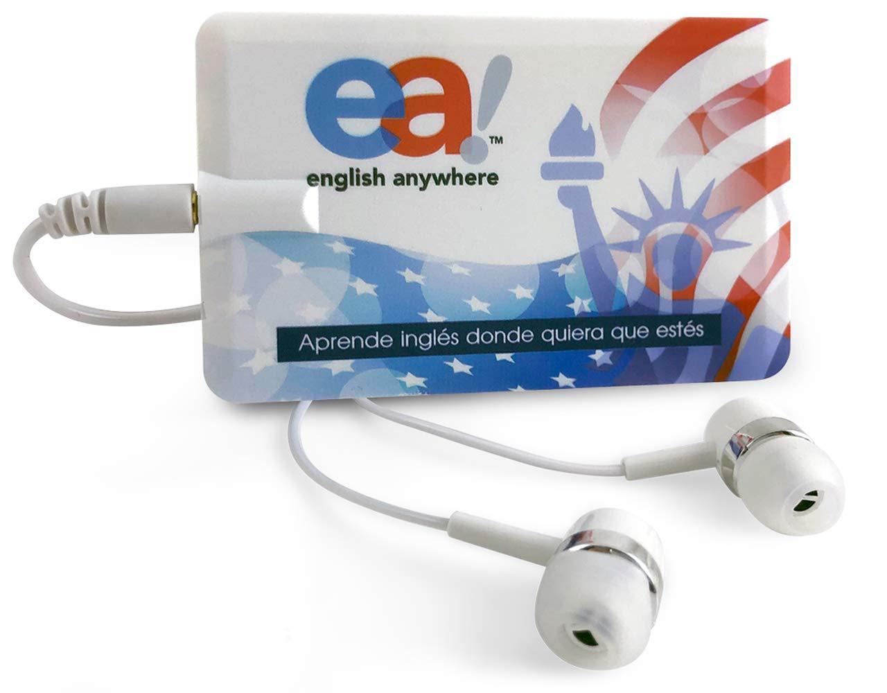 Curso de Ingles - Aprender Ingles Basico | EnglishCourse EA English Anywhere | Incluye Reproductor Mp3 Ultra Plano con 90 Lecciones en Audio | Spanish Edition. by EA English Anywhere