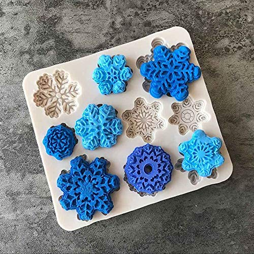 - Cake Molds - 3d Snowflake Silicone Molds Fondant Soap Mold Sugar Candy Craft Diy Cake Biscuit - Animal Shaped Round Giraffe Letters Rectangle Numbers Shapes Women Circle Ring Number Metal B