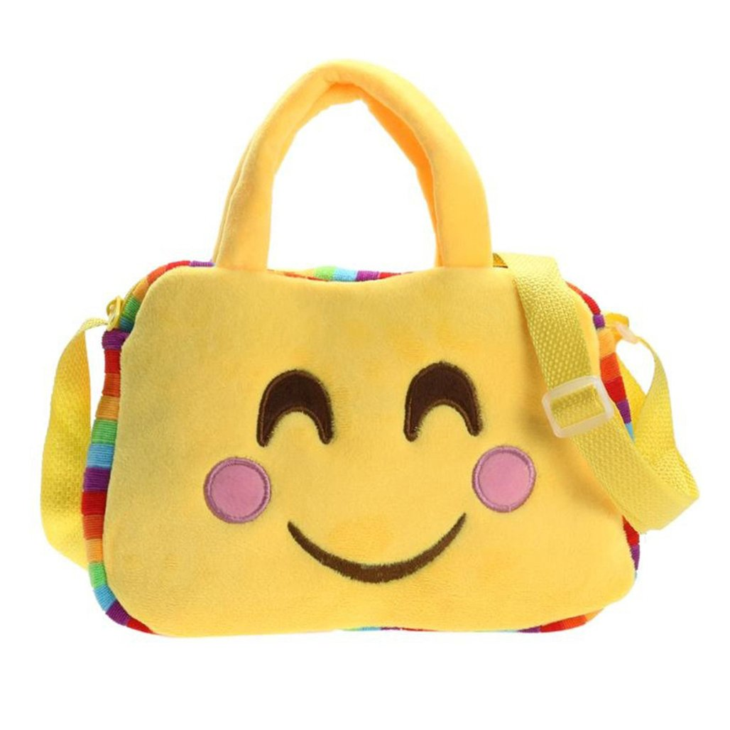 Emoticon Plush Shoulder Bag $3...