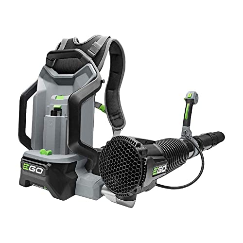 EGO Bare Tool 145 MPH 600 CFM 56-Volt Lithium-Ion Cordless Electric Backpack Blower battery and charger NOT included