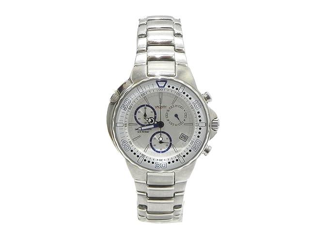 Reloj Vagary by Citizen Mujer Cronógrafo Acero White Dial Data IY1 - 516 - 11: Amazon.es: Relojes