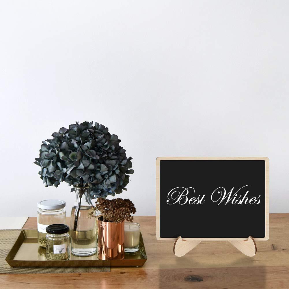 Amazon.com: HAOLIVE - Mini pizarra decorativa de madera ...