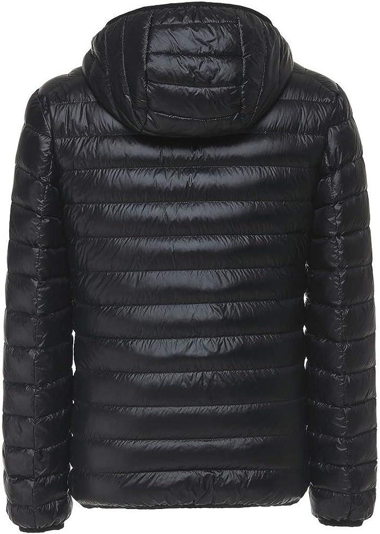 SWISSWELL Herren Jacke Daunen Mantel mit Hut /Übergangs Mix Outdoor Mantel Leicht Wasserdicht Bodywarmer