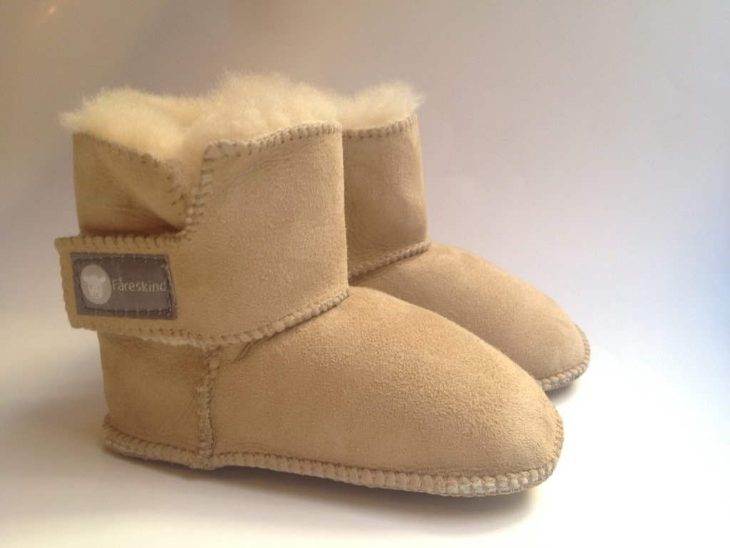 NEW BABY TODDLER AUSTRALIAN SHEARLING SUEDE SHEEPSKIN FUR BOOTS SHOES 0-6