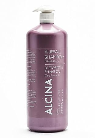 Alcina Aufbau-Shampoo Pflegefaktor 2 1250 ml Aufbau-Shampoo für trockenes & strapaziertes Haar