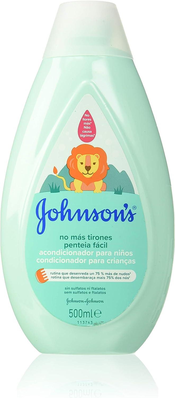 Johnson's Baby - Acondicionador No Más Tirones para Niños, 500 ml