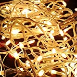 Blackberry Overseas Yellow Colored Decorative RICE Lights, 15 metre Long