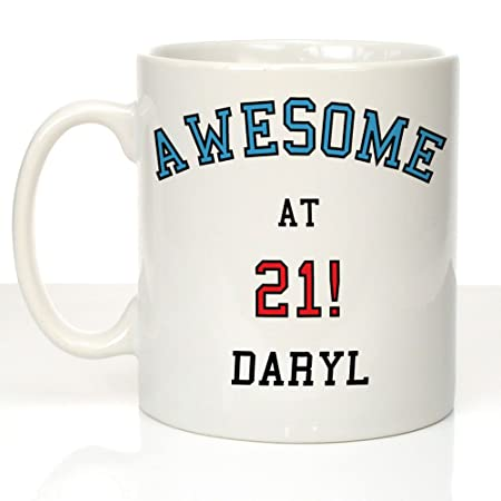 Impresionante diseño en 21: Personalizable 21st Birthday ...