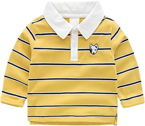 Polo para Niños Camisetas de Manga Larga Bebé Niños Perros ...