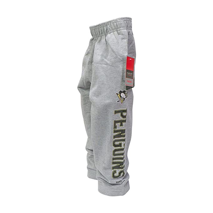 Amazon.com   Reebok Pittsburgh Penguins NHL Youth Post Game Gray Sweatpants    Sports   Outdoors 292a40489