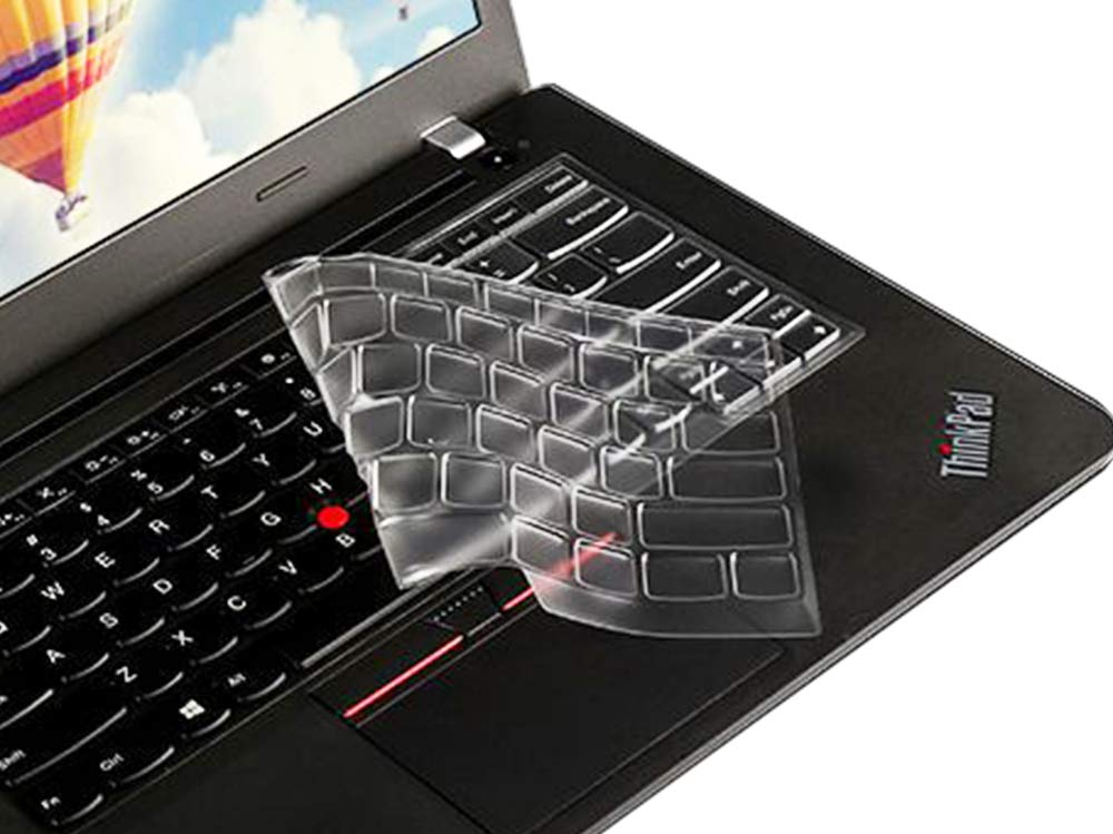 Ultra Thin Clear Keyboard Protective Skin Cover for Lenovo Yoga 260, Yoga 370 & ThinkPad X380 Yoga Laptop & ThinkPad X230S X240 X240S X250 X260 X270 ...