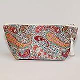 Liberty Print Tana Lawn Bourton Cosmetic Bag Make up Bag Zip Pouch