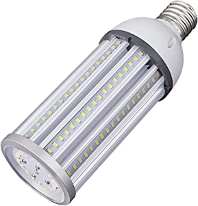 54W LED Corn Light Bulb E39 Mogul Base LED Lights Equivalent(300W) 5000K Daylight IP65 Waterproof Replacement HID HPS for Indoor Area Warehouse High Bay Street Light …