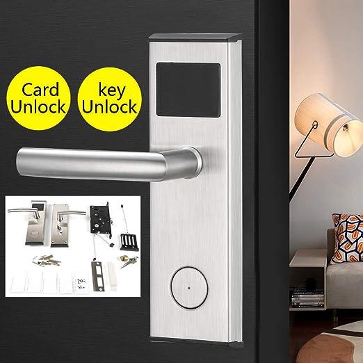 RanBB cerradura electrónica para puerta, cerradura de ...