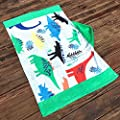Kids Hooded Bath/Beach Towel Girls Boys Cute Cartoon Animal Full Vitality,100% Cotton