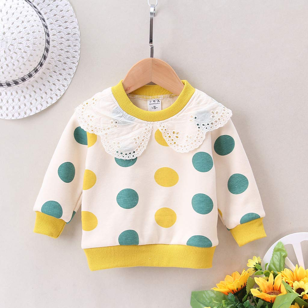 1-3 Years violet FBGood Childrens Long-Sleeved T-Shirt with Pullover 90//M
