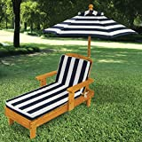 Chaise Lounge For Kids Chair Outdoor Pool Patio Lounger Furniture Umbrella Canopy Sun Shade Cushion Pad