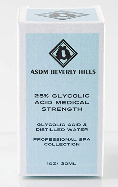 Amazon Com Asdm Beverly Hills 25 Glycolic Acid Peel 1 Ounce Anti