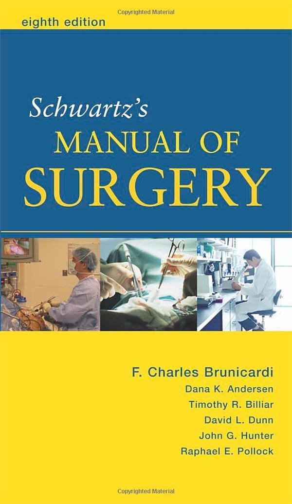 Schwartzs Manual of Surgery