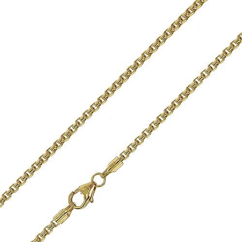 trendor Halskette für Anhänger 585 Gold 14 Karat Venezia