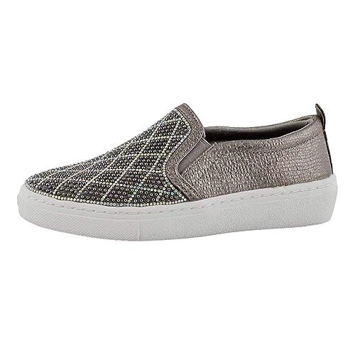 SKECHERS Skechers Girls Shoe Goldie Diamond Darling Pewter