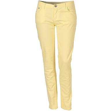 Glamorous - Jeans - Femme - jaune - Small  Glamorous  Amazon.fr ... e4ac542e87a