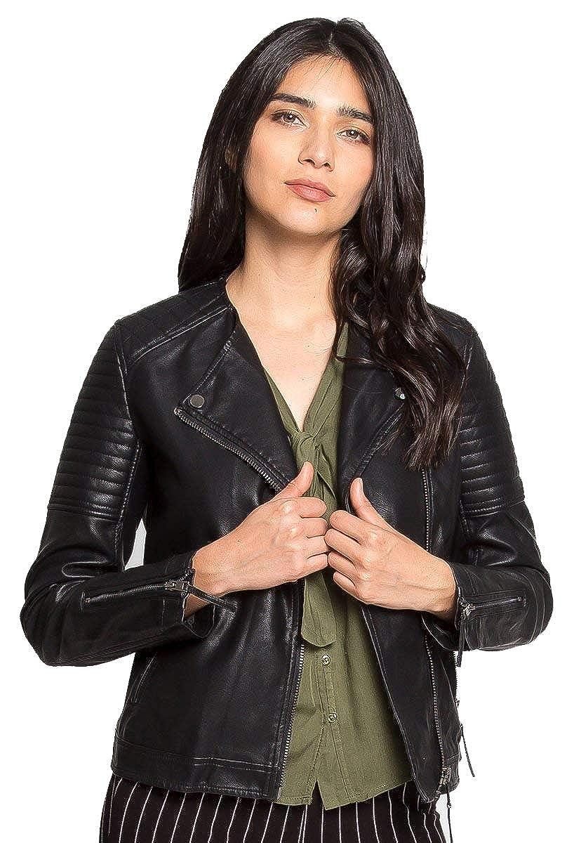 Stylish Black Biker Genuine Leather Jackets