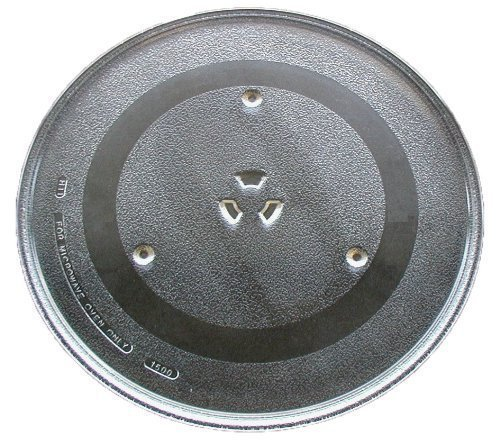 G.E. Microwave Glass Turntable Plate / Tray 12 1/2 '' WB39X10003 by GE (Image #1)