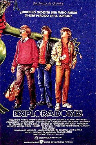 EXPLORERS Movie POSTER 27x40 Ethan Hawke River Phoenix Jason Presson Amanda