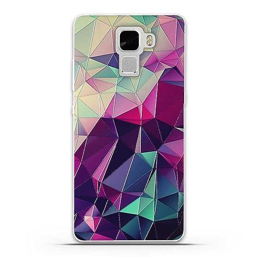 5 opinioni per Huawei Honor 7 Cover, Fubaoda Fantasia 3D Rilievo UltraSlim TPU Skin Cover