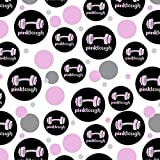 Pink Tough Barbell Cancer Logo Premium Gift Wrap Wrapping Paper Roll