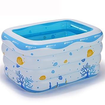 Bebé bañera hinchable bañera bebé recién nacido gruesa bañera bañera ...