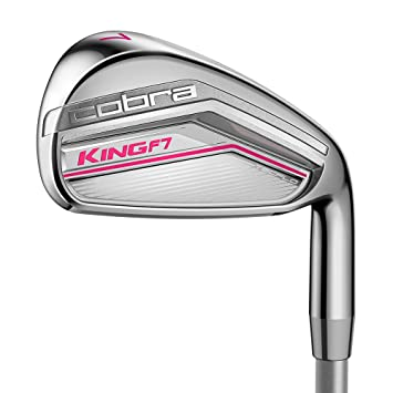 Cobra King F7 Ladies Golf hierros (grafito) Womens Flex 6-SW ...