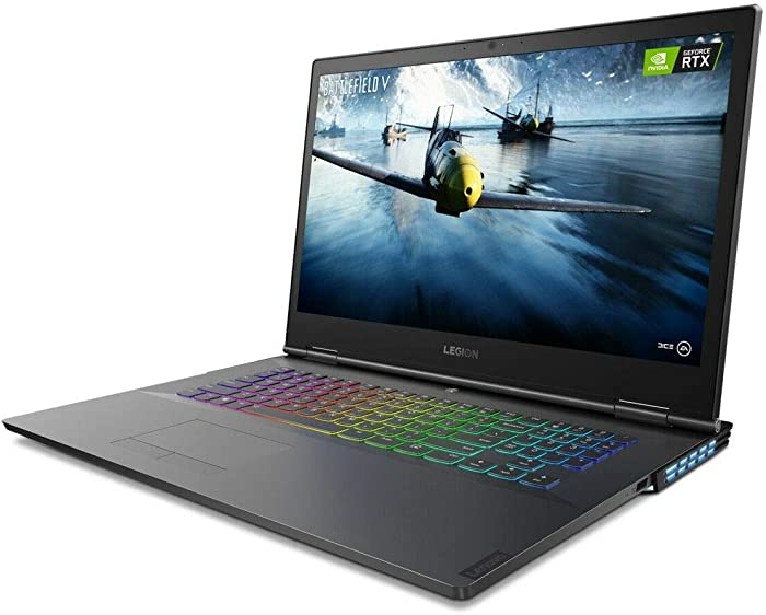 Lenovo Legion Y740 Gaming Laptop, 17.3 pulgadas FHD (1920 x 1080), 9th Gen Intel Core i7-9750H, 16GB RAM, 512GB SSD + 1TB Hard Drive, NVIDIA GeForce RTX 2070 with Max-Q, Windows 10 (Renewed)