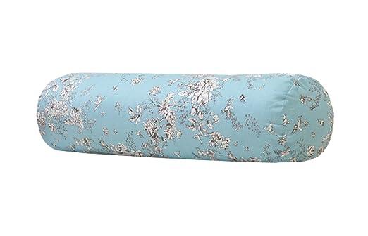 Trendy XU - Cojín cilíndrico para sofá y almohada, algodón ...