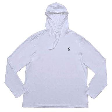 a13d572ce93 Polo Ralph Lauren Mens Jersey Knit Hoodie Tee (Small