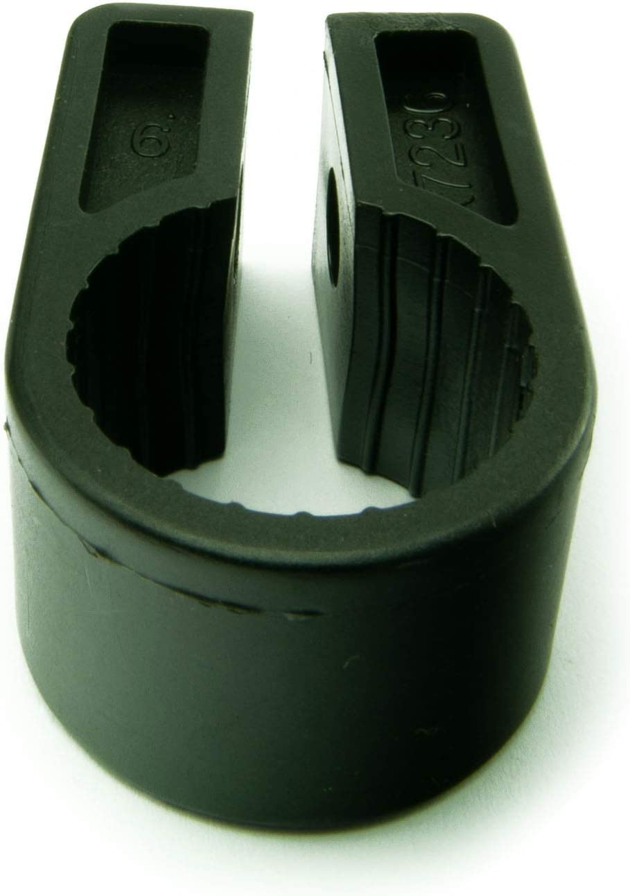 BLACK CDL Micro 5 x Electrical cable//Lead//Wire cleat//Cable Cleats Size 9-22.8m