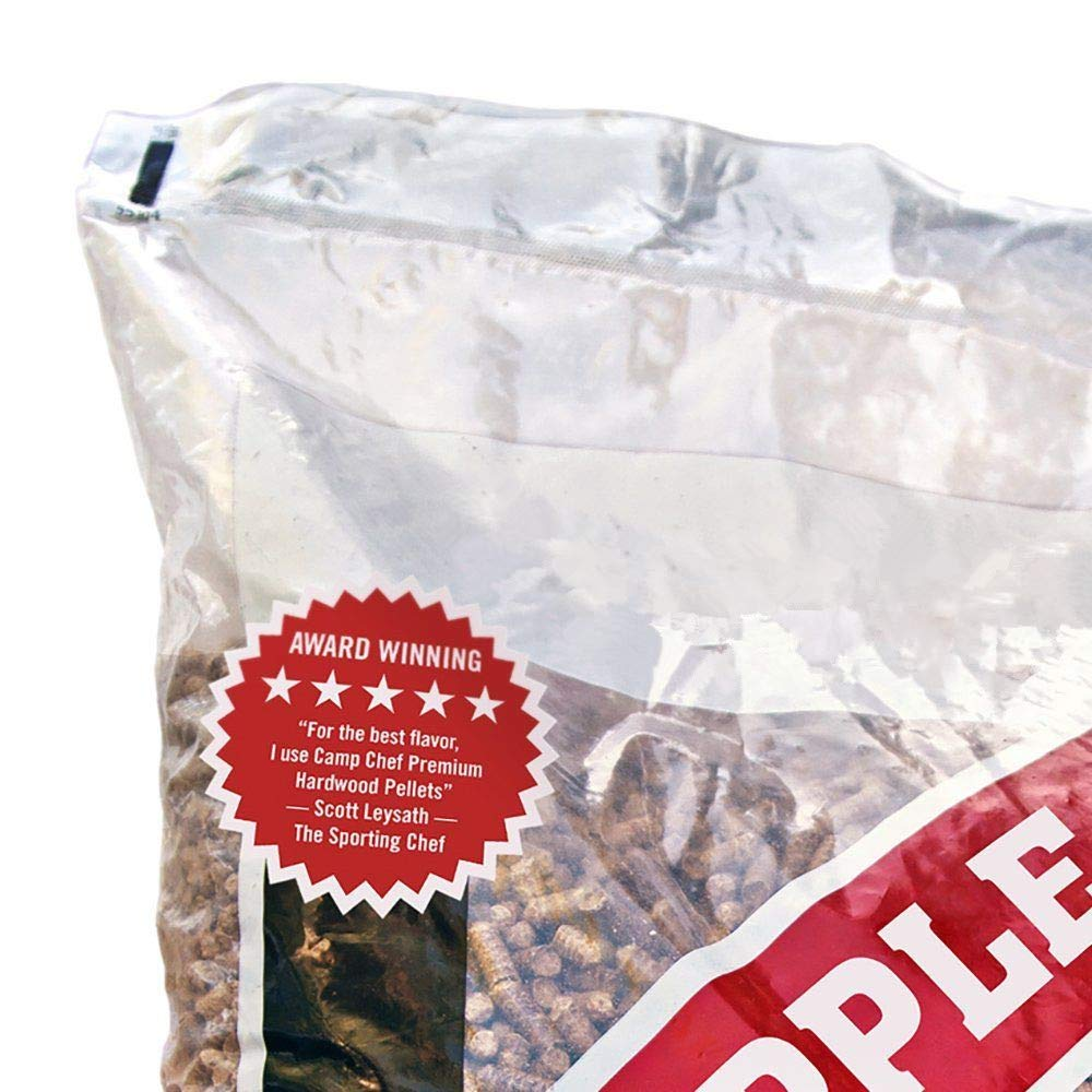 MRT SUPPLY Smoker Grill Premium Orchard Apple Hardwood Pellets, 20 lbs (4 Pack) with Ebook