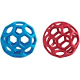 JW Pet Tough by Nature HOL-ee Roller, Assorted (Medium Pack of 2, Assorted)