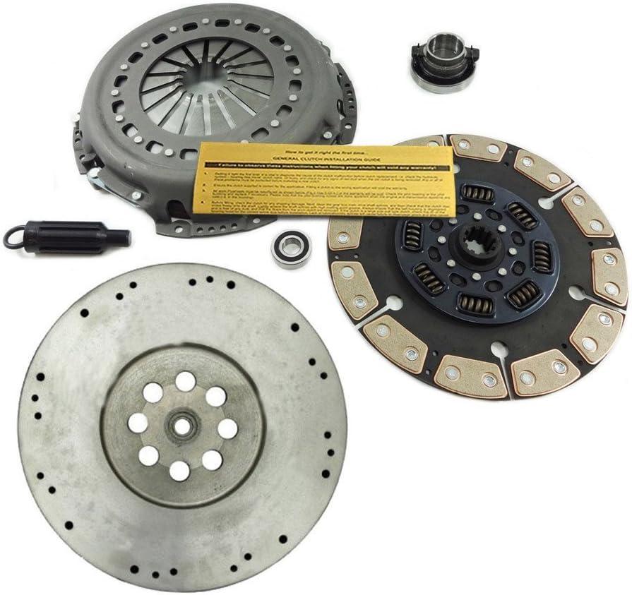 Amazon Com Eft Ceramic Clutch Kit Hd Flywheel Fits Dodge Ram 5 9