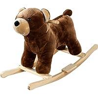Happy Trails Plush Rocking Barry Bear with Sound
