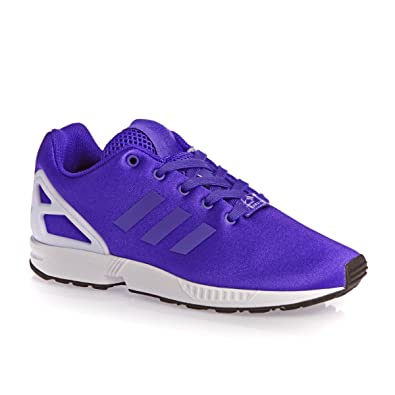 1fafde5c3d8ad adidas originals Zx Flux Kids Trainers - Night Flash White  Amazon.co.uk   Shoes   Bags