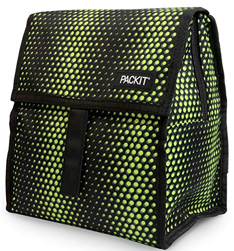 - PackIt Freezable Lunch Bag with Zip Closure, Venom