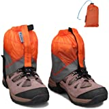 Magarrow 登山用ゲイター スパッツ 防水 トレッキング レッグカバー 登山 雨よけ 悪天候の日に 男女兼用