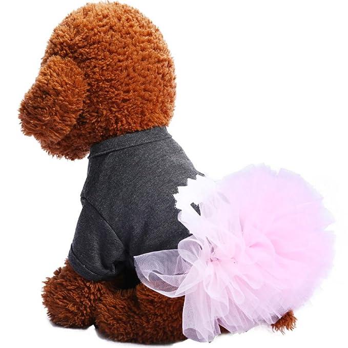 Amazon.com: Mascota Vestido De Burbujas, ooeoo falda de ...