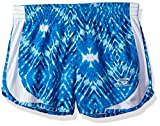 Skechers Big Girls' Sport Running Short, Bluefish Print, Small (8-10)