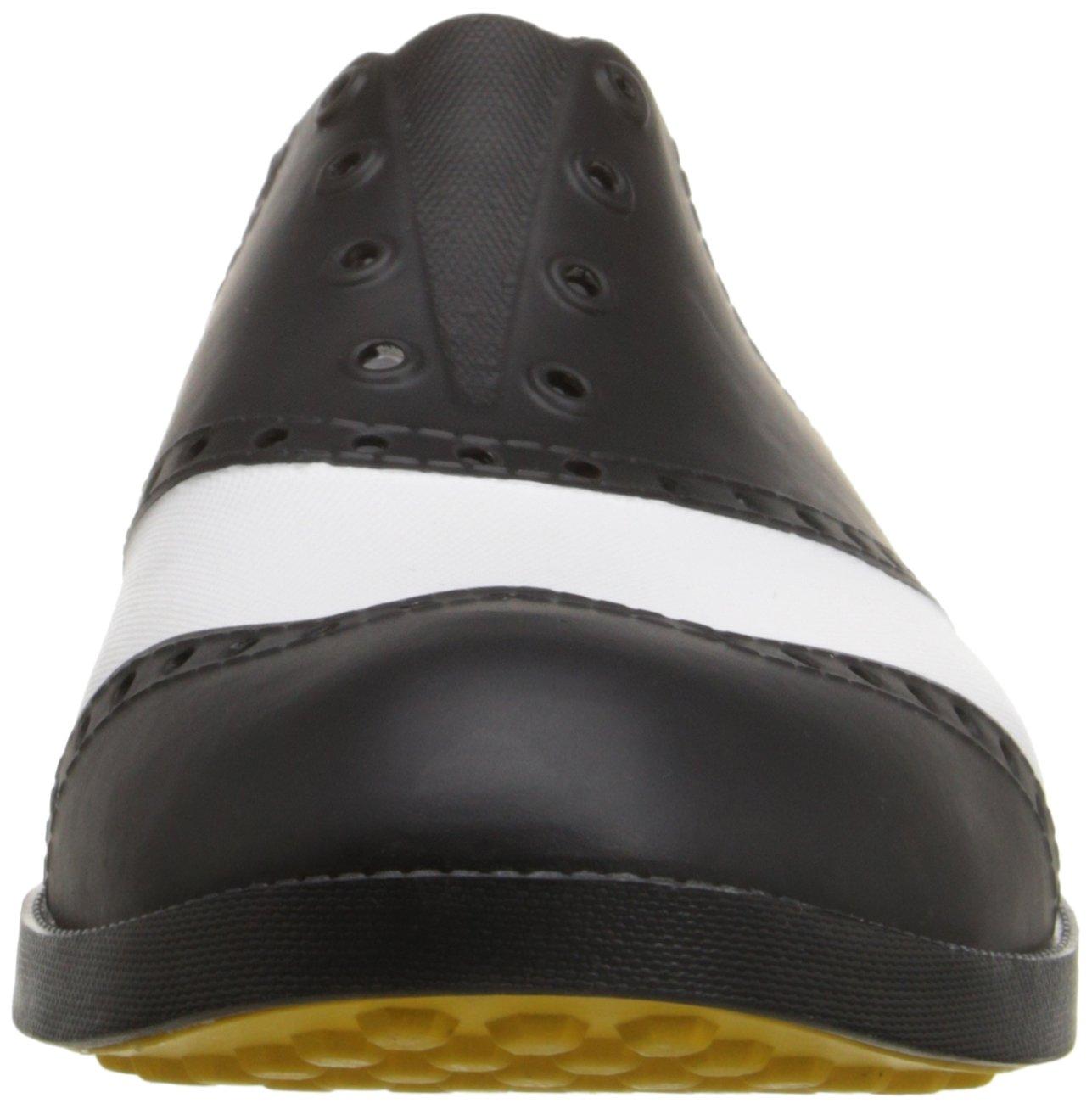 innovative design b5dbd 1cd03 Biion Men s The Classics Oxford y Golf Slip On Blanco negro