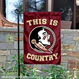 College Flags and Banners Co. Florida State Seminoles This is Seminole Country Garden Flag