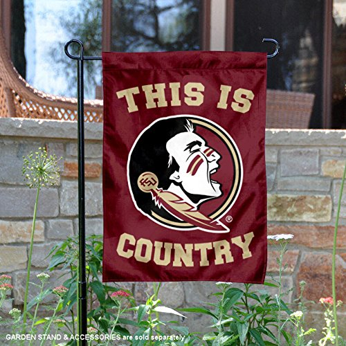 College Flags and Banners Co. Florida State Seminoles This is Seminole Country Garden Flag by College Flags and Banners Co.