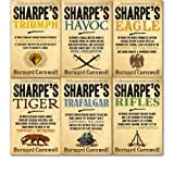 img - for Bernard Cornwell Sharpe's collection 6 Books Gift set. (Triumph, Trafalgar, rifles, tiger, eagle and havoc) book / textbook / text book